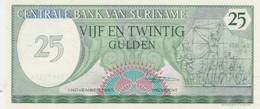 Rox Suriname 25 Gulden 1985  FDS - Surinam