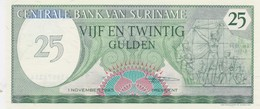 Rox Suriname 25 Gulden 1985  FDS - Suriname