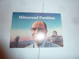 Mitterrand Président 1981 - Other