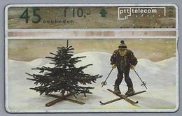 NL.- Telefoonkaart. PTT Telecom. 45 Eenheden. DECEMBER 1993. KERST. 309G - Jahreszeiten