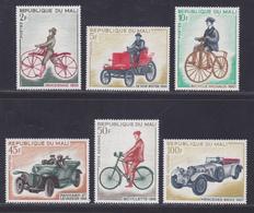 MALI N°  111 à 114, AERIENS N° 60 & 61 ** MNH Neufs Sans Charnière, TB (D5216) Bicyclettes Et Automobiles Anciennes - Mali (1959-...)