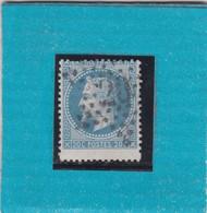 N° 22     ETOILE DE PARIS N° 20  Bureau R. St-DOMque-St-Gn     - REF 1448 + PIQUAGE - 1863-1870 Napoleon III With Laurels