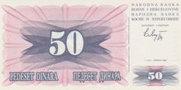 Rox Bosnia 50 Dinara 1992   FDS - Bosnia Erzegovina