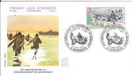 BT14-01 - ARROMANCHES - Premier Jour - Débarquement, D-DAY, WW2 - Poststempel (Briefe)