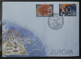 Belarus 2009. Astronomy (Europa). FDC - Belarus