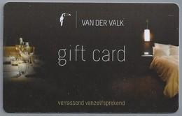 NL.- GIFTKAART. GIFT CARD. GIFTCARD. VAN DER VALK. Verrassend Vanzelfsprekend. - Telefoonkaarten
