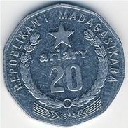 Madagascar - 1999 - 20 Ariary - KM 24.2 - VF - Madagascar