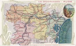 11 - Département De L'AUDE - Petit Lot De 8 Cartes Différentes, Toutes Scannées - Voir Les Scans - Frankreich