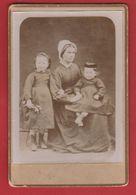 Photo  - Femme Et Enfants - Alte (vor 1900)