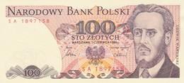 Rox Poland 100 Zlotych 1982 FDS - Pologne