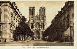 CPA - Carte Postale -- FRANCE _ REIMS - Rue Libergier (iv 355) - Reims