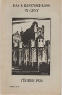 ** DAS GRAFENSCHLOSS IN GENT ** FÜHRER 1956  -   Editeur  S.M.  N°7520 - Belgique & Luxembourg