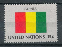Nations Unies N°320** Drapeau De La Guinée - Unused Stamps