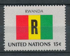 Nations Unies N°330** Drapeau Du Rwanda - Unused Stamps