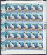 Ross Dependency 1997 Sea Birds /WWF 6v Bl Of 25  ** Mnh (F6911) - Ross Dependency (Nieuw-Zeeland)