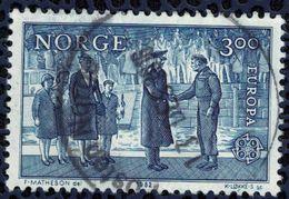 NORVEGE 1982 Oblitération Ronde Used Stamp Europa Poignée De Main - Norvège
