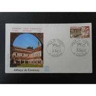 FDC - Abbaye De Fontenay - 4/6/1977 Marmagne - FDC