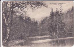 CPA -  327. TENCE (Hte Loire) - L'étang De Joux - Autres Communes