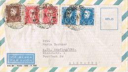 27647. Carta Aerea SAO PAULO (Brasil) 1962 A Germany - Brasil