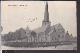Koolskamp , Coolskamp De Kerk  Feldpost 1915 - Bélgica