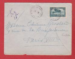 Maroc  - Enveloppe  Pour Paris  - - Morocco (1891-1956)