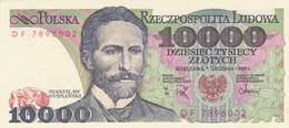 Rox Poland 10000 Zlotych 1982 FDS - Pologne