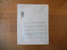 MAIRIE DE CALAIS LE 10 NOVEMBRE 1949 COURRIER LE MAIRE FÊTE DE NOËL REPAS AUX VIEILLARDS DE PLUS DE 70 ANS - Documenti Storici