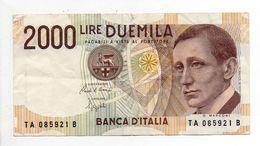 - Billet 2000 LIRE G. MARCONI 1990 - - [ 2] 1946-… : Républic