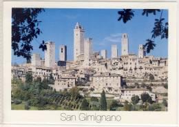 SAN GIMIGNANO  PANORAMA  FORMATO GRANDE - Italie
