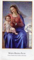Silea (Treviso) - Santino MARIA REGINA PACIS - PERFETTO N92 - Religione & Esoterismo