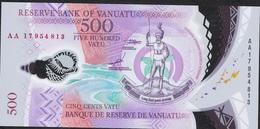 VANUATU NLP 500 VATU  2017 UNC. - Vanuatu