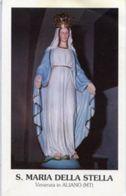 Aliano (Matera) - Santino SANTA MARIA DELLA STELLA - OTTIMO N92 - Religione & Esoterismo