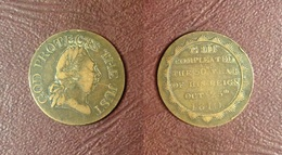 GRANDE-BRETAGNE - Jeton Du Jubilée De Geroges III - 1810 - Royal/Of Nobility