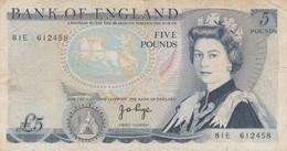 Rox Regno Unito 5 Pounds BB - 5 Pounds