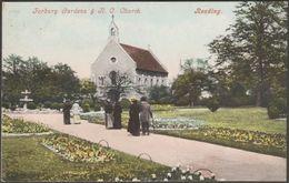 Forbury Gardens & Roman Catholic Church, Reading, Berkshire, C.1905 - Blum & Degan Postcard - Reading