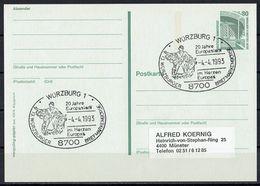(17.709) BRD // Ganzsache - Postkarte - S. Scan - BRD