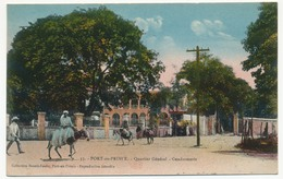 CPA - HAITI - PORT-AU-PRINCE - Quartier Général - Gendarmerie - Haïti