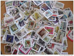 LOT 250 GRAMMES TIMBRES COLLECTION ILES BRITANNIQUES  MAN - Briefmarken