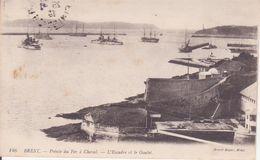 CPA - 146. BREST Pointe Du Fer à Cheval  -  L'escadre Et Le Goulet - Brest