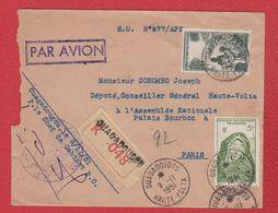 Haute Volta  - Env De Ouagadougou  -  Pour Paris  - 9/11/1951 - Upper Volta (1920-1932)