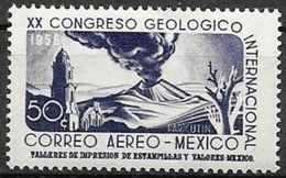 Messico/Mexico/Mexique: Congresso Geologico, Vulcano, Congrès Géologique, Volcan, Geological Congress, Volcano - Musique