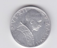 Rox  1955 Vaticano 5 Lire SPL - Vaticaanstad