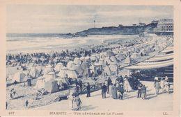 CPA - 167. Biarritz - Vue Générale De La Plage - Biarritz