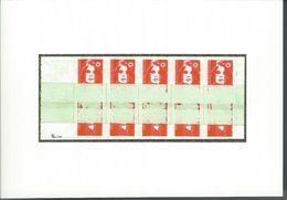 Photo Carte   Timbre BRIAT Carnet Autocollant Prédécoupé Et Imprimé Sur Raccord Curiosités . - Zonder Classificatie