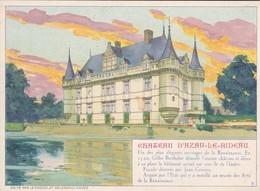 Chromo Delespaul-Havez-9-Château D'Azay Le Rideau - Otros