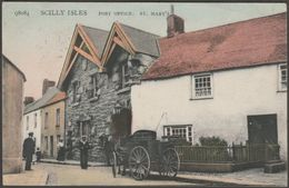 Post Office, St Mary's, Scilly Isles, 1908 - Peacock Postcard - Scilly Isles