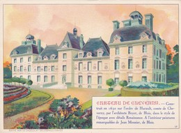 Chromo Delespaul-Havez-17-Château De Cheverny - Otros