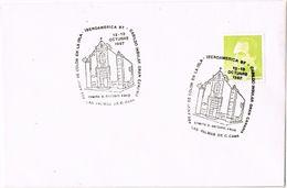 27658. Carta Exposicion LAS PALMAS GRAN CANARIA (Canarias) 1987. Iglesia San Antonio ABAD - 1931-Hoy: 2ª República - ... Juan Carlos I
