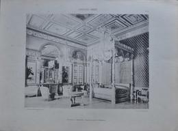 L' ARCHITECTURE FRANCAISE - CHATEAU DE COMPIEGNE -  CHAMBRES A COUCHER / IMPERATRICE / NAPOLEON 1er - Old Paper