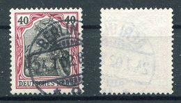 Deutsches Reich Michel-Nr. 75 Gestempelt - Oblitérés